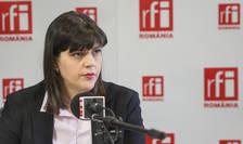 Laura Codruţa Kovesi, în studioul RFI România