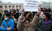 La Moscova, o manifestatie de sustinere a opozantului încarcerat Alexei Navalnîi, pe 21 aprilie 2021, a adunat peste 6.000 de manifestanti, potrivit politiei. Peste o mie au fost retinute.