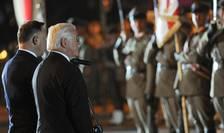 La Wielun, 1 septembrie 2019, presedintele Germaniei, Frank Walter Steinmeier (dr) a cerut iertare victimelor agresiunii germane duse împotriva Poloniei, primul act al celui de-al Doilea Razboi Mondial.