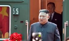Liderul nord-coreean Kim Jong Un a ajuns la frontiera dintre Vietnam si China, 26 februarie 2019.