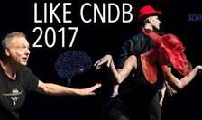 """Gigi Căciuleanu la festivalul LIKE CNDB cu noul său spectacol, """"Un minut de dans sau UF!!!"""", 2017"""