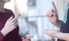 Limbajul mimico-gestual ar putea deveni obligatoriu în instituţiile publice
