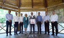 Liviu Dragnea și candidați la funcția de primar