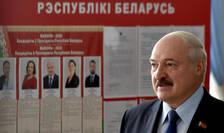 Presedintele Belarus, Alexandr Lukasenko, duminicà 9 august 2020.