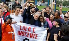 Lula da Silva eliberat din închisoarea de la Curtiba, 8 noiembrie 2019