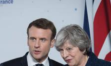 Emmanuel Macron si Theresa May, aliati contra armelor chimice dupà atacurile de la Salisbury si Douma