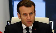 Presedintele Emmanuel Macron, 20 martie 2020, în celula interministerialà consacratà crizei coronavirus