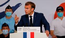 Discurs pe tema securităţii pronunţat de Emmanuel Macron la Roubaix, 14 septembrie 2021.