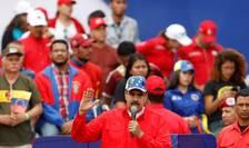 Nicolas Maduro la Caracas, pe 2 februarie 2019. Presedintele Venezuelei nu apàruse în public de 6 luni.