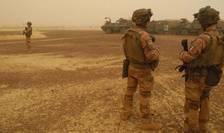 Soldati francezi ai operatiunii Barkhane în Mali, martie 2019.
