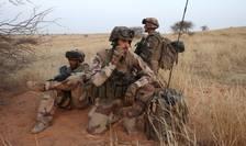Militari francezi din cadrul misiunii Barkhane în Mali
