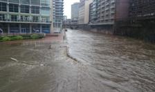Inundații la Manchester