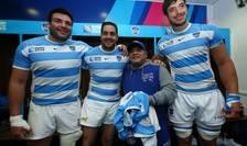 Diego Maradona în vestiarul Pumas