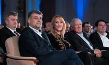 Marcel Ciolacu și Gabriela Firea, la Convenția Națională a Pro România (Sursa foto: Facebook/Pro România)