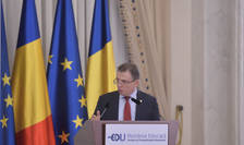 Marius Nistor, aici la o dezbatere la Palatul Cotroceni, în 2018 (Sursa: MEDIAFAX FOTO/Alexandru Dobre)