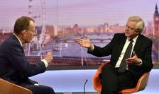 David Davis (dreapta) intervievat la BBC de Andrew Marr