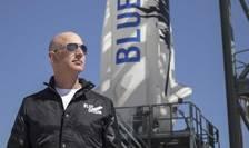 Marti la ora 15h00 ora Parisului, Jeff Bezos, fondatorul Amazon, va decola spre spatiu la bordul unei capsule realizate de compania sa Blue Origin, în care se vor afla în total 4 oameni.