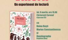 Experiment de lectură, cu Doina Ruști, autoarea romanului Mâţa Vinerii