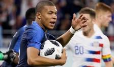 Kylian Mbappé pe 9 juin 2018; atacantul de 19 ani este evaluat de CIES la peste 186 de milioane de euro