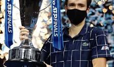 Daniil Medvedev a câștigat Turneul Campionilor 2020.
