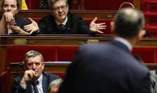 Jean-Luc Mélenchon, liderul miscàrii Franta nesupusà, în timpul discursului sustinut de premierul Edouard Philippe în parlament pe 3 martie 2020.