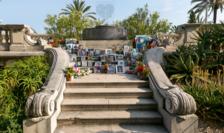 Memorialul victimelor atentatului jihadist din 14 iulie 2016 de la Nisa se regaseste pe Promenade des Anglais.