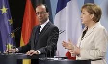Angela Merkel si Francois Hollande, discurs istoric in Parlamentul European