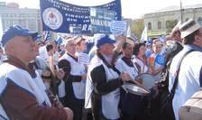 Protest profesori (arhivă)