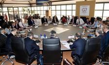 Ministrii de Finante din G7 reuniti la Chantilly, Franta, 17 iulie 2019.