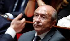 Ministrul francez de Interne, Gérard Collomb anunta ca va demisiona anul viitor pentru a candida la Primaria Lyon