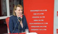 Monica Biota la radio RFI Romania