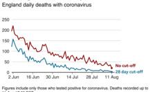Curbele mortalității Covid