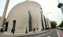 Moscheia centrala din Koln, Germania, 8 mai 2021.