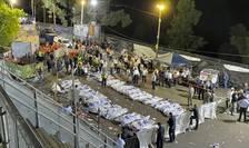 Cadavre ale victimelor de Muntele Meron