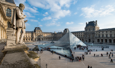 Muzeul Louvre din Paris, cel mai vizitat muzeu din lume în 2018.