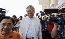 Htin Kyaw, ales preşedinte al Myanmarului (Foto: Reuters/Soe Zeya Tun/arhivă)