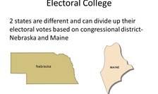 Nebraska și Maine în Colegiul Electoral