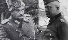Nicolae Tătăranu (stânga) și Arthur Hauffe