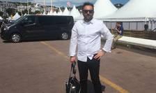 Producàtorul român Cristian Nicolescu, la festivalul de film de la Cannes