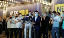 Nicușor Dan salută scăderea cazurilor de Covid-19 în București (Foto: RFI/Cosmin Ruscior)