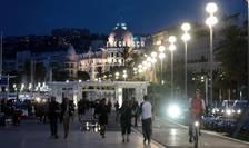 Promenada englezilor din Nisa pe 12 octombrie 2016, cu câteva zile înaintea omagiului national adus victimelor atentatului din 14 iulie