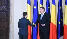 Președintele Klaus Iohannis i-a acceptat pe Daniel Suciu și Răzvan Cuc ca miniștri în Guvernul Dăncilă (Sursa foto: presidency.ro)