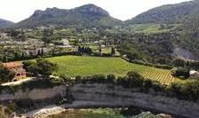 O podgorie de pe Coasta de Azur.
