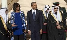 Barack Obama, vizita in Arabia Saudita