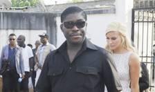 Teodorin Obiang, fiul presedintelui din Guinea ecuatorialà, în 2014 la Malabo