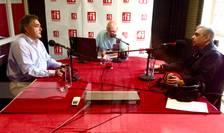 ES Francois Saint-Paul, Dan Schwartz si Florin Niculescu in studioul RFI Romania
