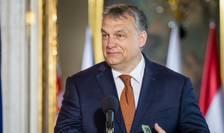 Premierul Ungariei Viktor Orban, pe 19 iunie 2017, la Varsovia, în Polonia