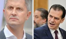 Copreședintele USR PLUS, Dan Barna, și președintele PNL, Ludovic Orban