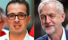 Owen Smith și Jeremy Corbyn