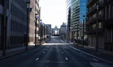 Rue de la Loi lockdown